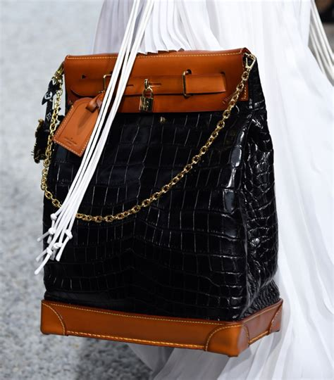 louis vuittons cruise  runway bags include  cute collab  grace coddington purseblog