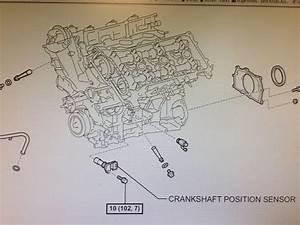 Replacing Crank Position Sensor On A 2005 V6 - How Difficult  - Toyota 4runner Forum
