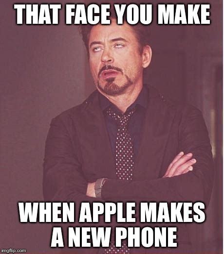 New Phone Meme - face you make robert downey jr meme imgflip