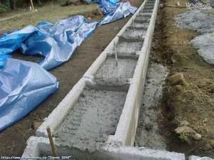 Betonování základů postup