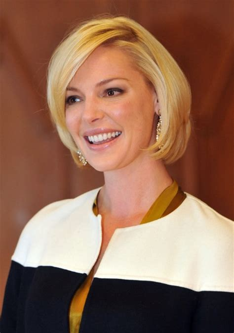 katherine heigl short haircut lovely bob hairstyle hairstyles weekly