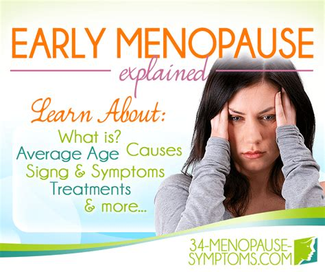 Early Menopause or Premature Menopause | Menopause Now