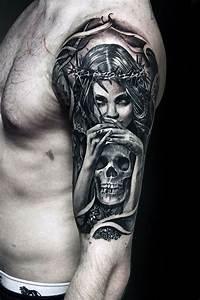 Tattoo Leben Und Tod : tatuajes de vida y muerte tatuajes tattoos ~ Frokenaadalensverden.com Haus und Dekorationen