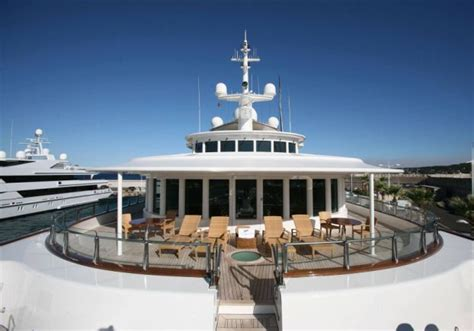 microsoft  founder paul allens  million yacht