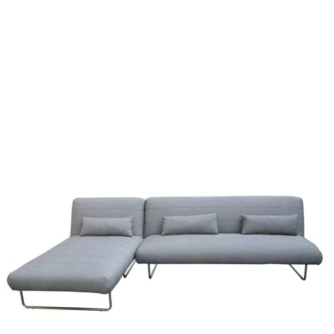 canape lit canapé lit d 39 angle trois places gris scandinave drawer