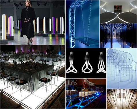 futuristic event decor inspiration    thinking
