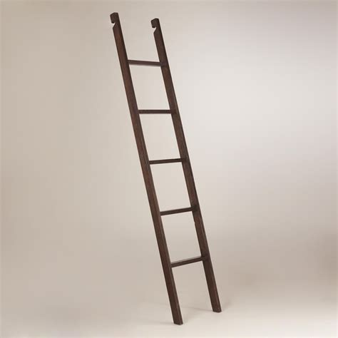 5 Ft Bookshelf by Bookshelf Ladder With Bar Rolling Separate Abt 6 5