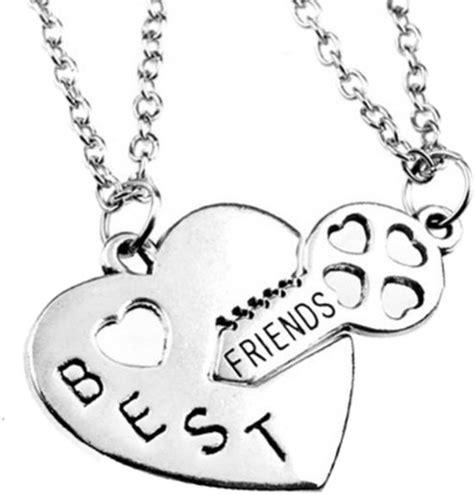 Bff Ketting Kleurplaten by Bol Vriendschapsketting Best Friends Hart Sleutel