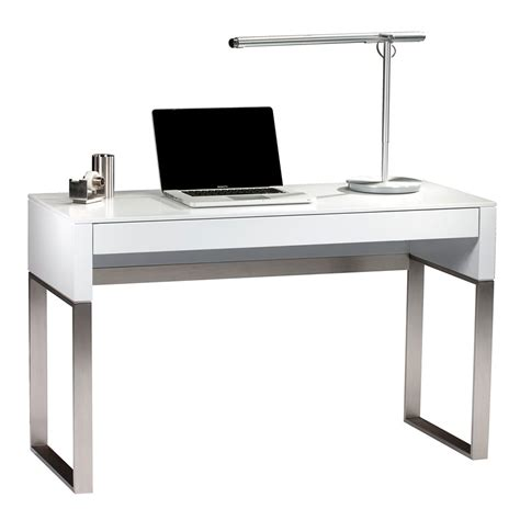 Cascadia White Modern Laptop Desk By Bdi  Eurway. Dorm Desk. Industrial Counter Height Table. 30 Inch Desk. Help Desk Support Software Free. Stand Up Desk Chairs. Best Inversion Tables. Narrow Secretary Desk With Hutch. Sit Stand Height Adjustable Desk