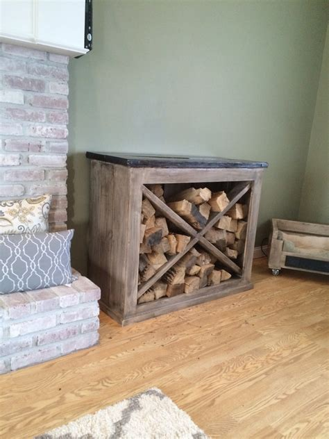 indoor firewood rack white interior wood rack diy projects