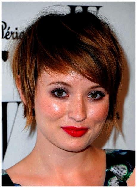 peinados   redonda  cabello corto