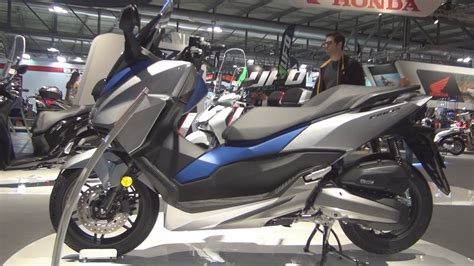 honda forza 2017 honda forza 125 abs matt pearl pacific blue 2017 exterior and interior in 3d