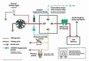 Bosch Relay With Diode Wiring Diagram