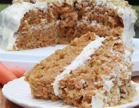 moist fluffy gluten  carrot cake recipe divas  cook