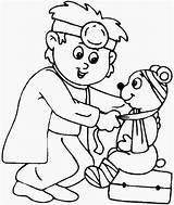 Coloring Hospital Doctor Building Animal Printables Bear Doctors Drawing Teddy Cartoon Getdrawings Getcolorings Printable Animals Bulkcolor sketch template
