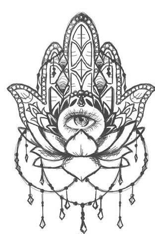 Image result for mandala including om, hamsa and lotus | Hamsa Hands \ The hand of Fatima