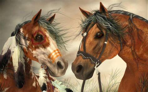 war horse indians  war horse   cowboys hd