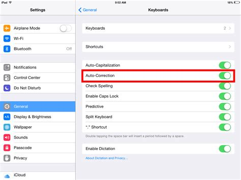 iphone rotation setting how to turn on auto correct on the iphone