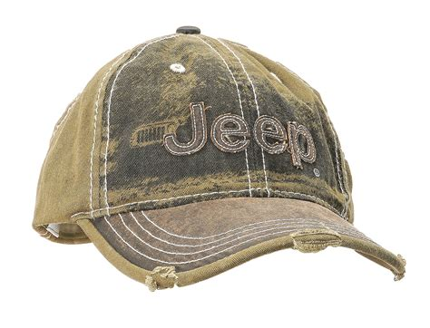 jeep hat mopar 10u6k heavy stone washed olive jeep cap quadratec