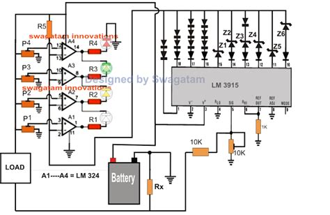 Homemade Circuit Projects Battery Backup Time Indicator