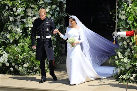 Meghan Markle's Wedding Dress By Clare Waight Keller
