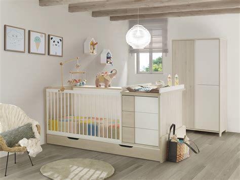 chambre bebe evolutif chambre bébé lit évolutif tiroir armoire finition