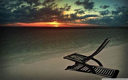 Chill Wallpapers Sunny Meadow Beach Evening