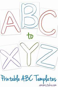 free abc printable templates a mom39s take With printable alphabet book template