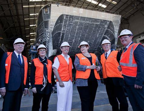 Australian Defense Minister Visits Austal