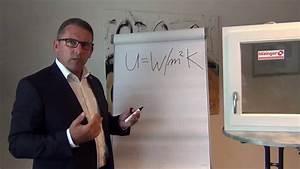 Fenster U Wert : u wert fenster teil 1 youtube ~ Watch28wear.com Haus und Dekorationen