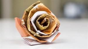 Blumen Aus Geld Basteln : geldgeschenk idee hochzeit rose aus geld basteln ~ Bigdaddyawards.com Haus und Dekorationen