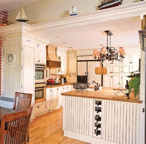 lambris cuisine cagne à l 39 ancienne cuisine avant après décoration
