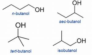 Heat Energy Produced By Fuel Butanol And Its Isomers