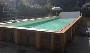 Piscine Couloir De Nage : couloir de nage en bois vercors piscine ~ Premium-room.com Idées de Décoration