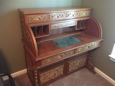 Roll Up Desk For Sale Antiques Com Classifieds