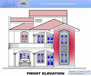Home plan and elevation 2634 Sq. Ft ~ Kerala House Design Idea
