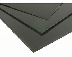 Plaque Pvc Rigide : pvc rigide noir 2mm 500x1000 pvcr 2 n ~ Melissatoandfro.com Idées de Décoration