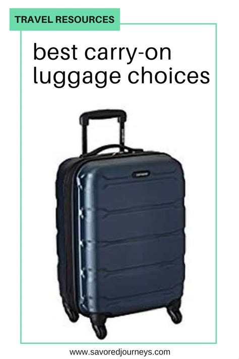 Beat The Overhead Bin Wars Best Carryon Luggage Choices