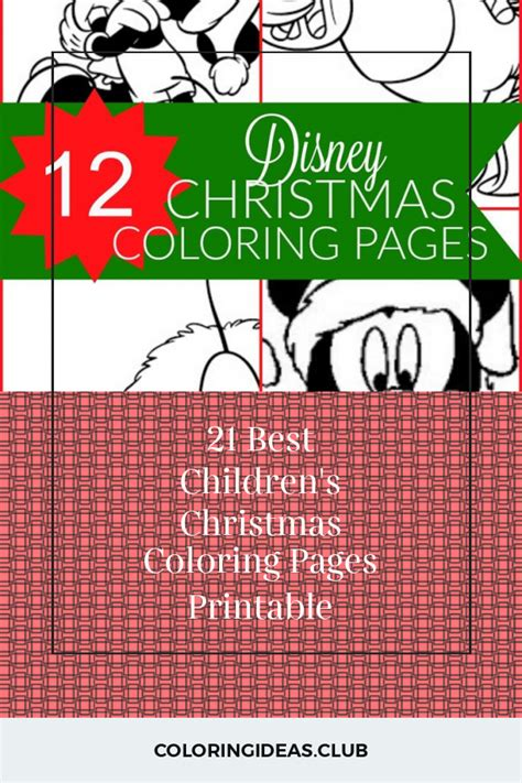 ideas    childrens christmas coloring pages printable   finest p