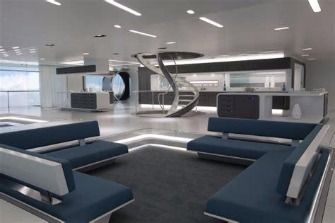 8 Stunning Futuristic Living Rooms  Living Room Ideas