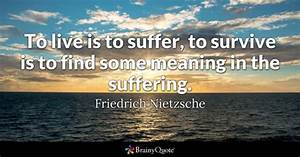 Suffering Quote... Hurt Meaning Quotes