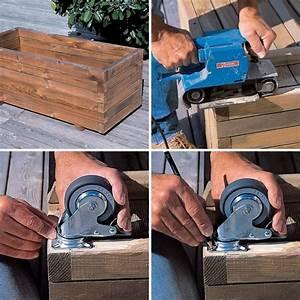 Jardiniere Sur Roulette : comment installer des roulettes sur une jardini re bricobistro ~ Farleysfitness.com Idées de Décoration