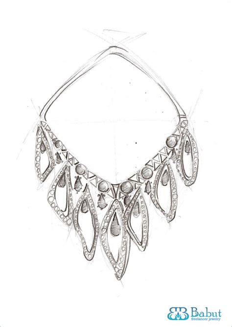 sketches design jewelry images  pinterest