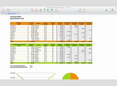 Sales Forecast Spreadsheet Template Spreadsheet Templates
