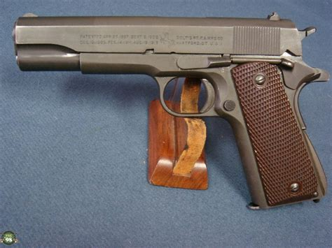 Sold Us Ww2 Colt 1911a1 Army Pistol November 1943 Matching