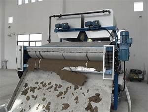 High efficiency belt press sludge dewatering machine for ...