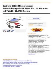 ladegerät für gel batterien cartrend 50132 mikroprozessor batterie ladeger 195 164 t mp 3800