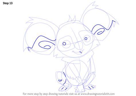 learn   draw koala  animal jam animal jam step