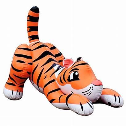 Tiger Inflatable Birthdayexpress Bengal Lion Pet Vbs