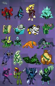 Ben 10 Omniverse Galactic Monsters